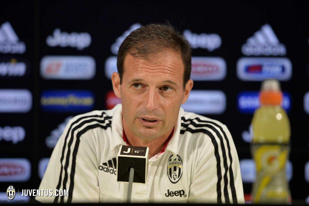 Allegri conferenza bologna news