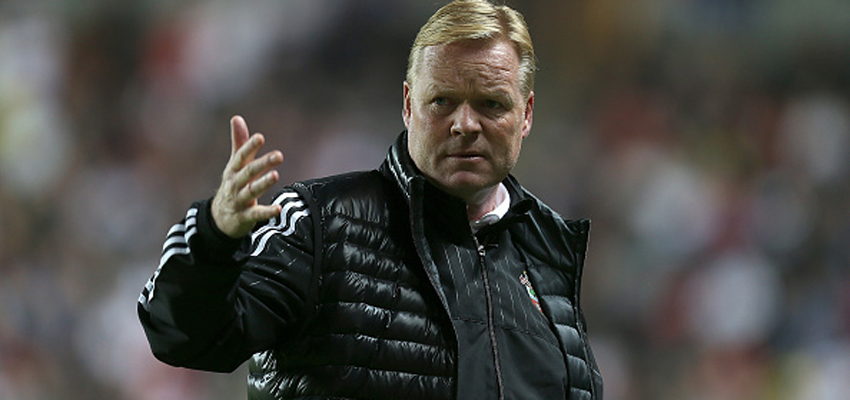 MILTON KEYNES, ENGLAND - SEPTEMBER 23:  Southampton manager Ronald Koeman looks on during the Capital One Cup Third Round match between MK Dons and Southampton at Stadium mk on September 23, 2015 in Milton Keynes, England.  (Photo by Pete Norton/Getty Images)