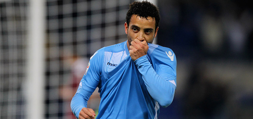 ROME, ITALY - OCTOBER 25:  Felipe Anderson of SS Lazio celebrates after scoring the team's second goal during the Serie A match between SS Lazio and Torino FC at Stadio Olimpico on October 25, 2015 in Rome, Italy.  (Photo by Paolo Bruno/Getty Images)